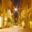Streets at night in Milano, Italy — Stock Photo #24916315