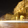 Fast moving cars at night  — Lizenzfreies Foto