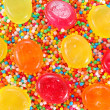 Colorful candies background — Stock Photo #25098561