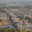Aerial view of Tiruvanamalai, Tamilnadu, India — Stock Photo