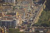 City view of city and Big temple in Tiruvanumalai, Tamilnadu, India — Stock Photo