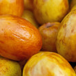 Fresh date fruits background — Stock Photo