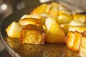 Fried potato — Stock Photo