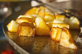 Fried potato — Stock Photo
