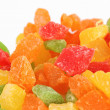 Fruit candy multi-colored all sorts — Stock Photo