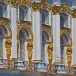 Katherine's Palace in Tsarskoye Selo (Pushkin), Saint Petersburg, Russia — Stock Photo #27668949