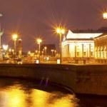 Night view of St Petersburg — Stock Photo