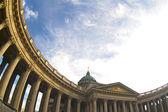 Kazan Cathedral, St. Petersburg, Russia — Stock Photo
