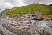 Landscape in Swanetia — Photo