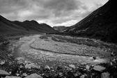 Kaukasus bergen i swanetia, georgien — Stockfoto