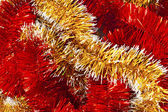 Christmas garland background — Stock Photo