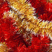 Christmas garland background — Stock Photo