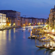 Grand Canale from Rialto Bridge — Stock Photo
