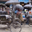 Rickshaws, transport for transporting passenger — Stock Photo #36694005