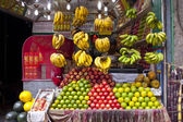 Fresh fruits on market — Stock Photo
