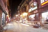 Empty street in Kathmandu — Stock Photo