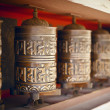 Prayer wheels — Stock Photo #36792705