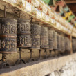 Prayer wheels — Stock Photo #36792877