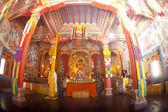 En el interior del templo de buddhistic — Foto de Stock