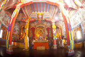 Inside of the buddhistic temple — Foto de Stock