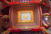 Vnitřek chrámu buddhistickými — Stock fotografie