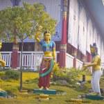 Hindu gods statues — Stock Photo