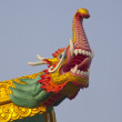 Stock Photo: Ornate rooftop of Chinese temple