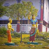 奎师那的雕像 — 图库照片