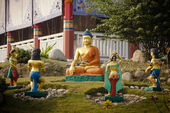 Scenes of Buddha's life — Photo