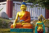 Buda em lumbini — Fotografia Stock