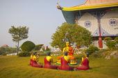 Scenes of Buddha's life — Stock Photo