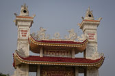 Rooftop of buddhist temple — Foto de Stock