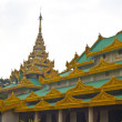 Stock Photo: Buddhist pagoda