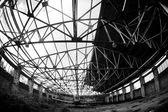 Old abandoned Navy plane — Stock Photo