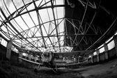 Old abandoned Navy plane — Foto de Stock