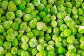 Peas texture — Stock Photo