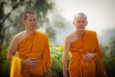 Pilgrims visit birthplace of Buddha — Foto Stock