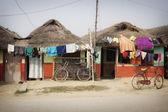 Clay house of Lumbini — Stock Photo