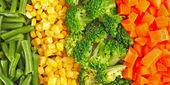 Karışık sebze arka plan — Stok fotoğraf