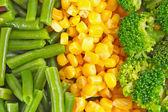 Míchaná zelenina — Stock fotografie