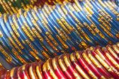 Braccialetti indiani colorati — Foto Stock