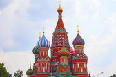 St Basils cathedral on Red Square — Stock Photo