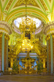 Interior of Peter and Paul cathedral — Stock Photo