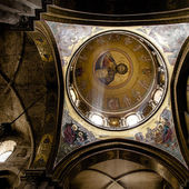 The dome of the Catholicon — Stock Photo
