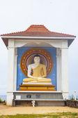 Piccolo stupa bianco — Foto Stock