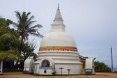 Small white stupa — Stock Photo