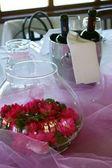 Pink Table — Стоковое фото