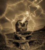 Misterious stone — Stock Photo