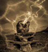 Misterious stone — Stock Photo