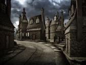 Dark street — Stock Photo